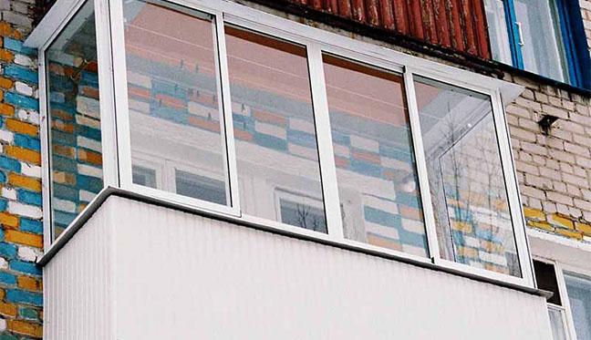 """Установка алюминиевых рам в оренбурге компания """"балконы от а."""