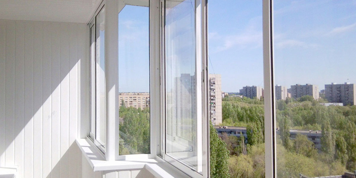 Надежные окна * остекление балкона и лоджии.